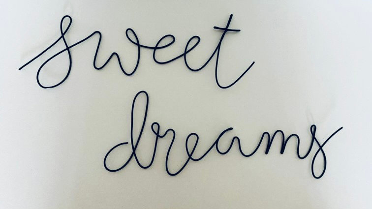 Wire Art Sweet Dreams