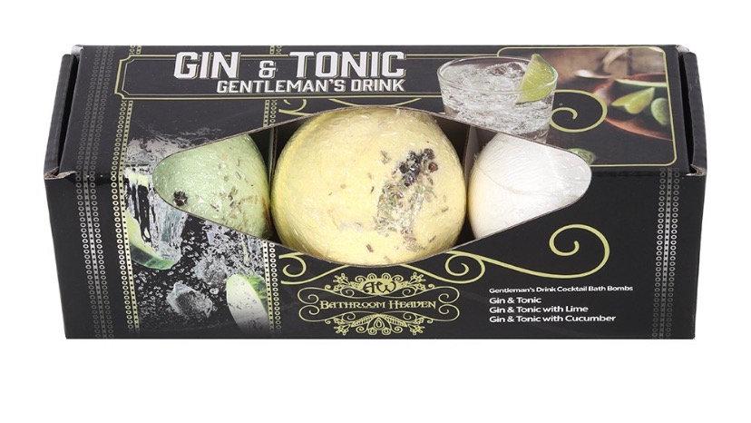 Gin & Tonic Bath Bomb Set