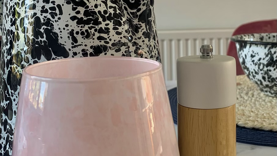 Pink Marble Reene Candle