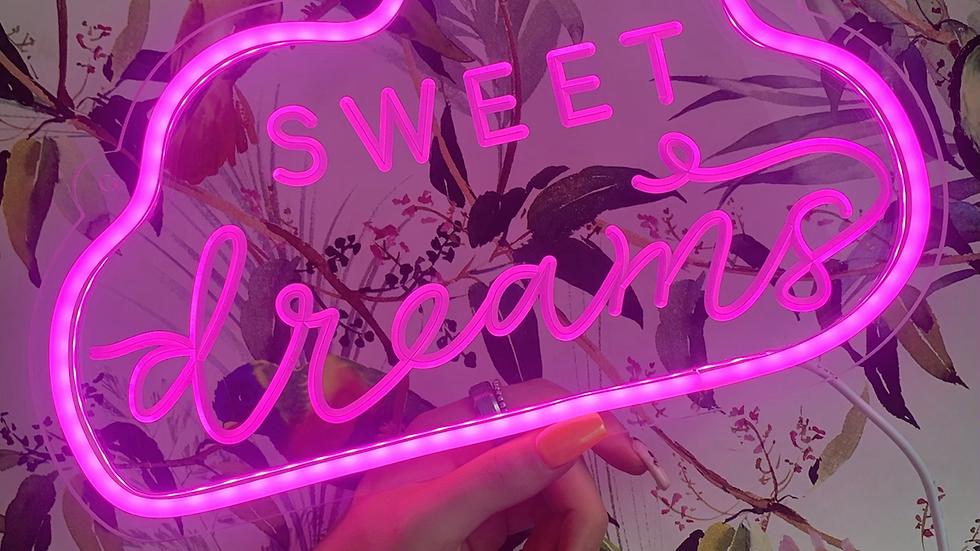 Sweet Dreams Neon Light