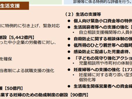 【コロナ支援策】更なる拡大へ