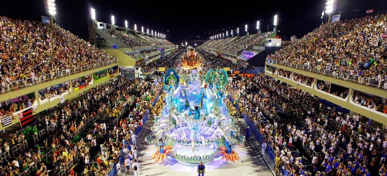 Sambadrome  Carnaval Parade in Rio