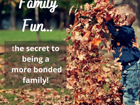 Why family fun is important...especially for stepfamilies!
