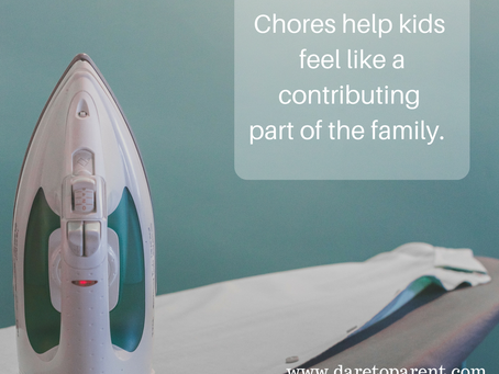 3 Reasons Why Stepkids Should have Chores