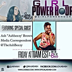 Ash Said it joins Jae Nash on Girl Power Hour