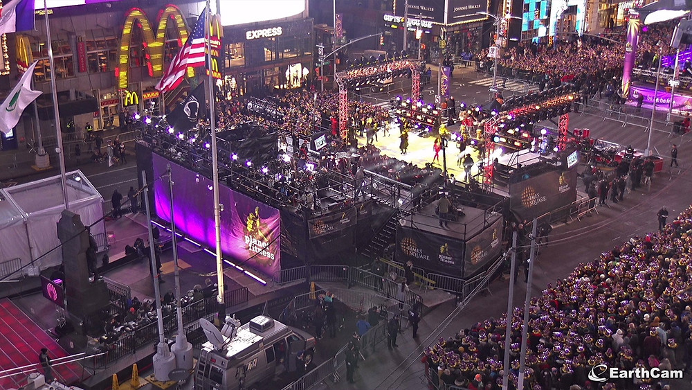 Ring in the New Year with EarthCam Live Online and Mobile Streaming