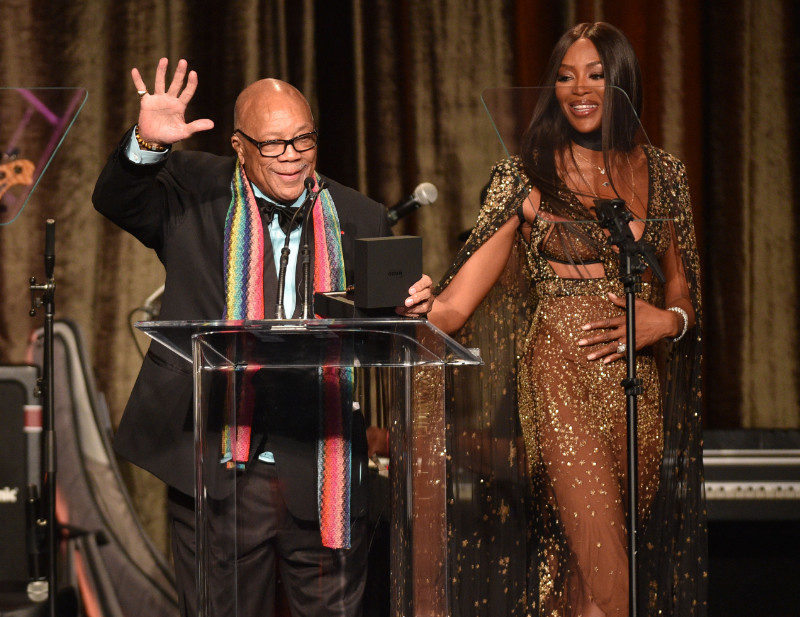 Quincy Jones and more honored by Rado at American Icon Awards