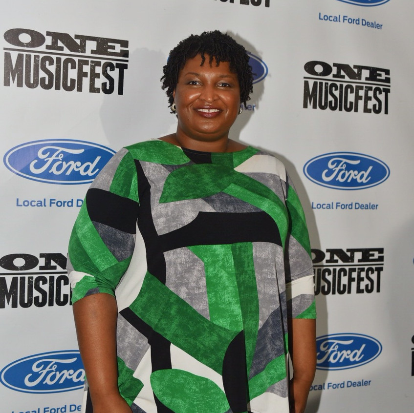 Stacey Abrams at OMF18 Sun 3
