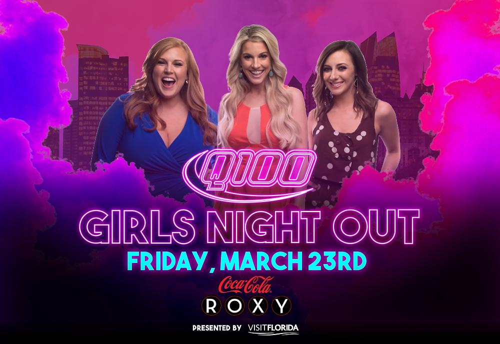 Q100 Girls Night Out 2018