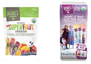 DeeBee's Organics Takes Back Summer with Delicious, Health-Conscious Freezies Exclusively Produc