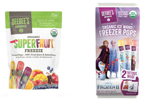 DeeBee's Organics Takes Back Summer with Delicious, Health-Conscious Freezies