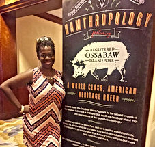 Ash Said It attends Cochon 555 Tour Atlanta at the Ritz Carlton