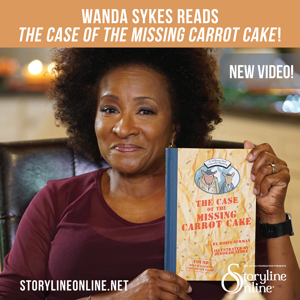 "Wanda Sykes reads ""The Case of the Missing Carrot Cake"" for Storyline Online®"