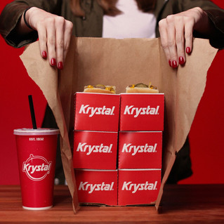 Krystal Helps Guests Give in to the Munchies with Free Delivery April 17-20