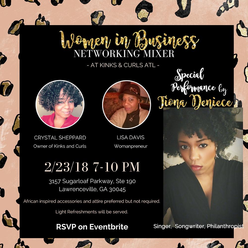 Women in business Networking Mixer Atlanta