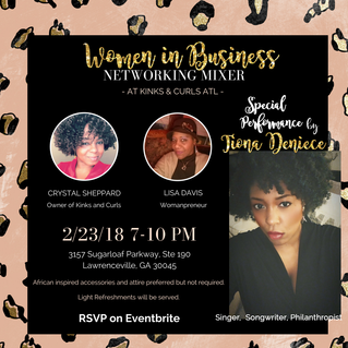 *Women in Business Networking Mixer*