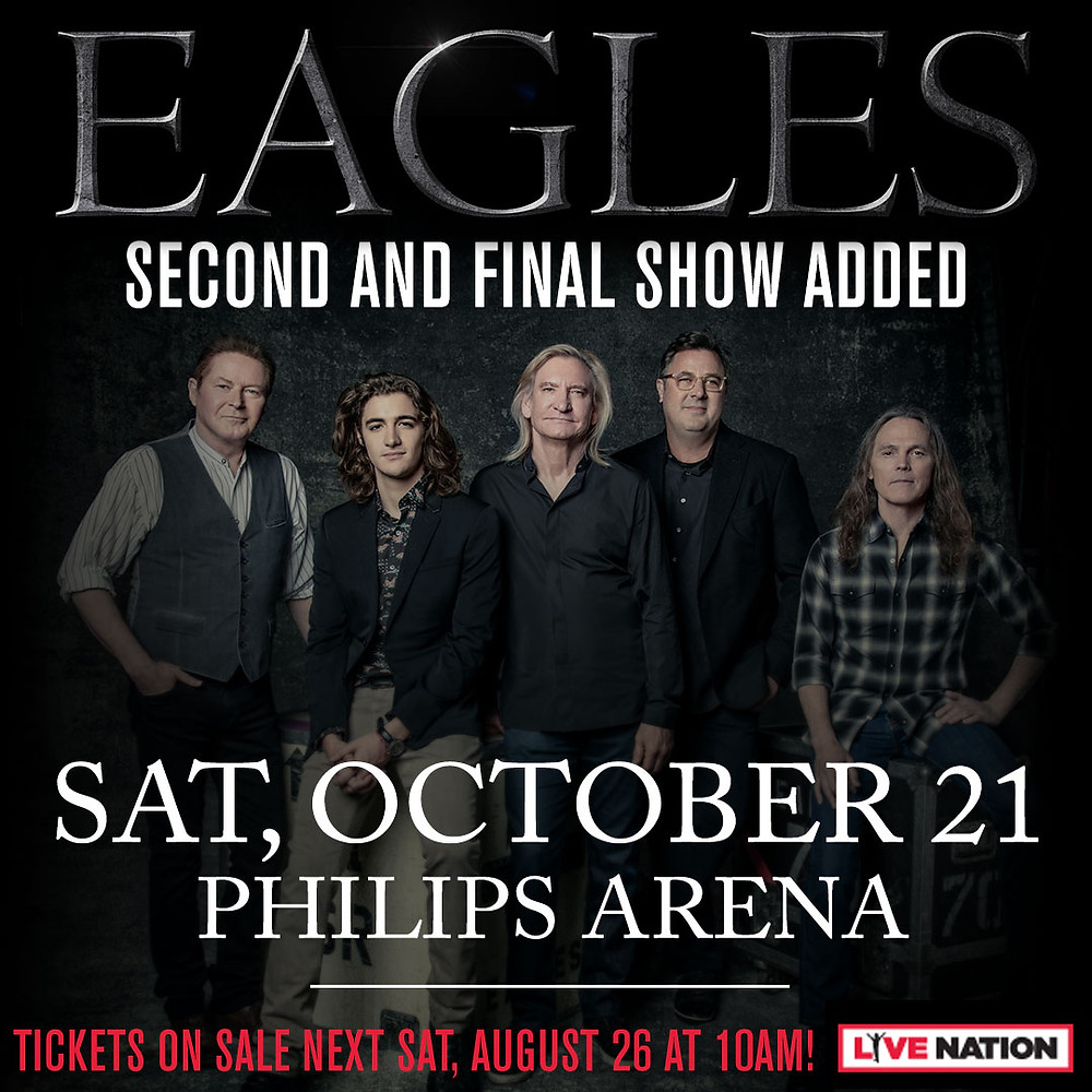 The Eagles at Philips Arena