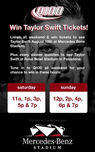 Win Taylor Swift Tickets!