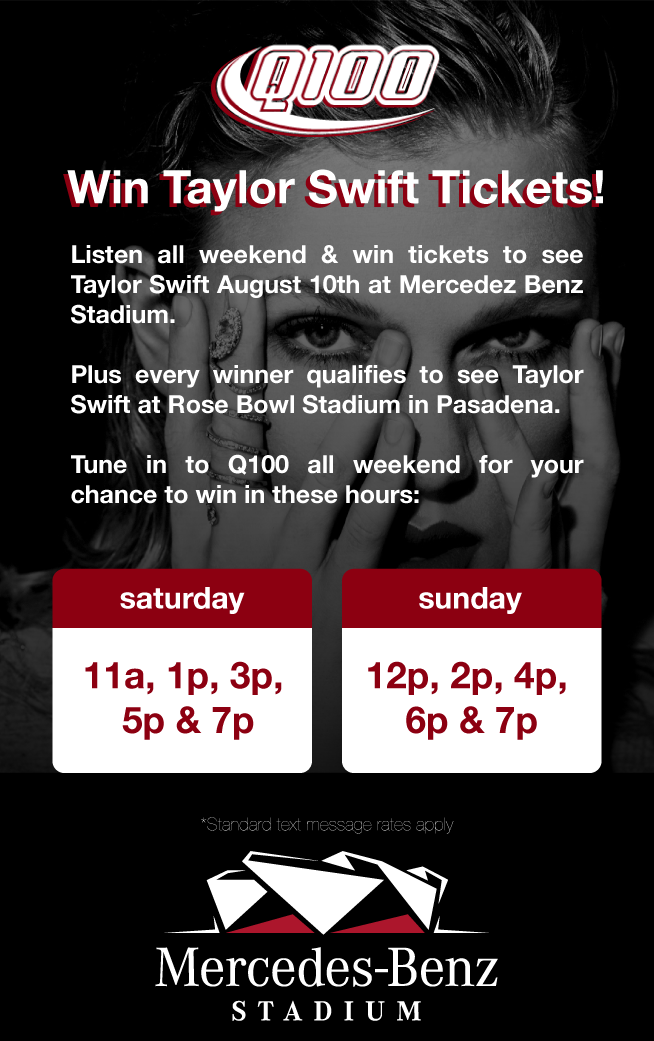 Win Taylor Swift Tickets!