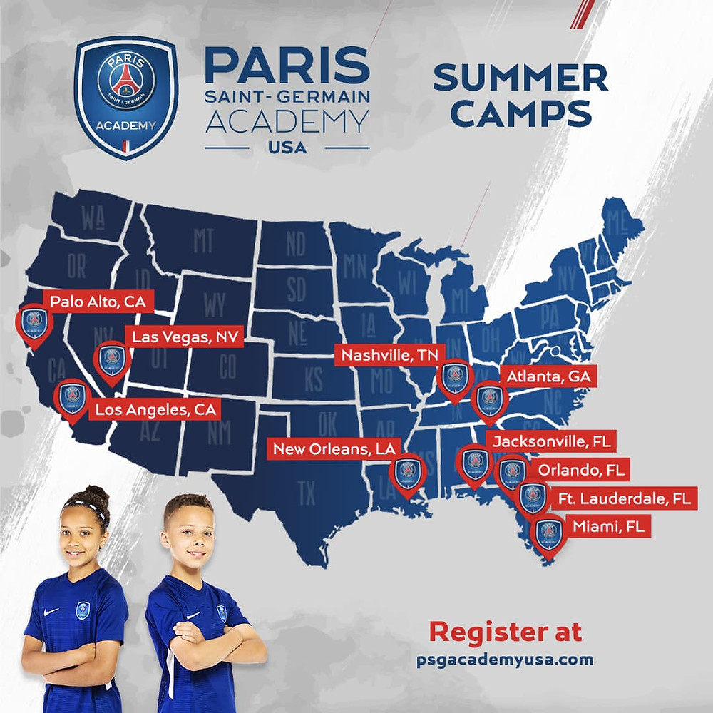 Give Your Kids The Experience Of the Winning Paris Saint-Germain Methodology This Summer