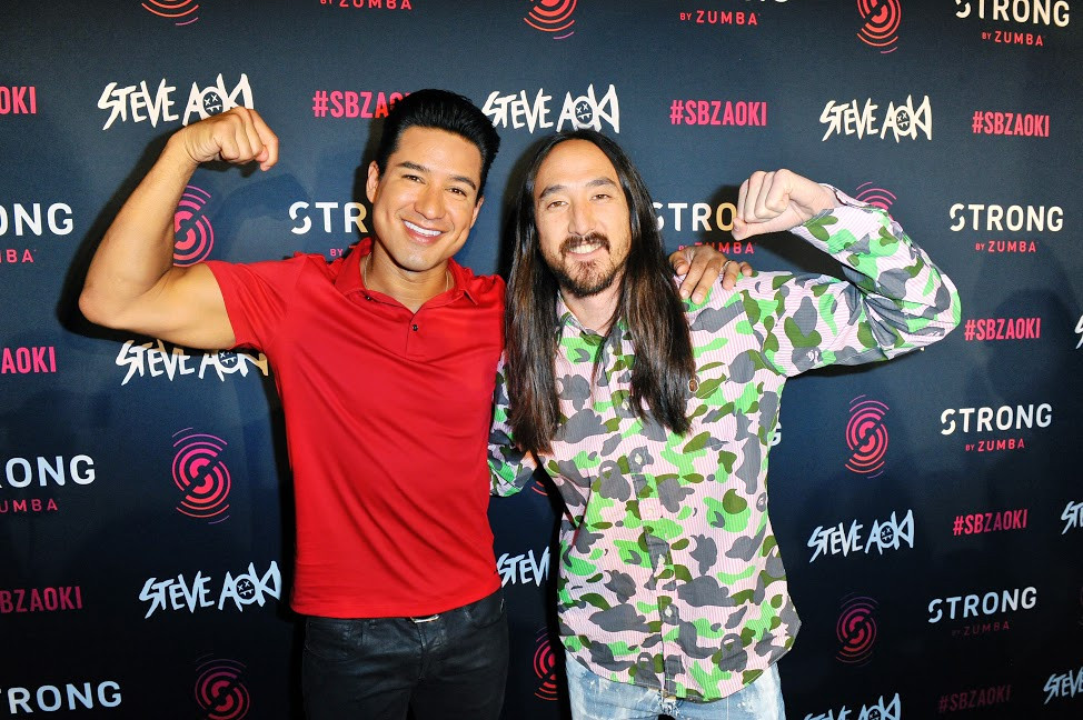 World-Renowned DJ Steve Aoki Celebrates First Fitness Partnership With STRONG by Zumba and World Premiere of Exclusive Track