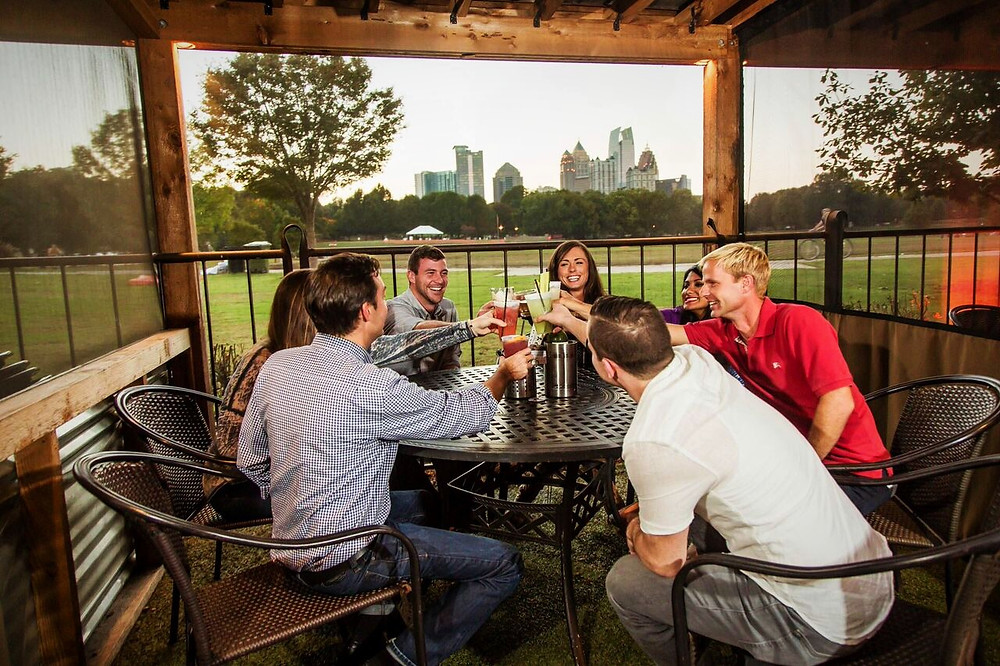 Park Tavern in Piedmont Park Hosts the Ultimate Big Game Viewing Party