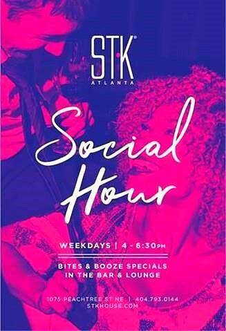 STK Atlanta Offers New Social Hour Menu for Summer