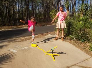 Kids Love Stunt Planes