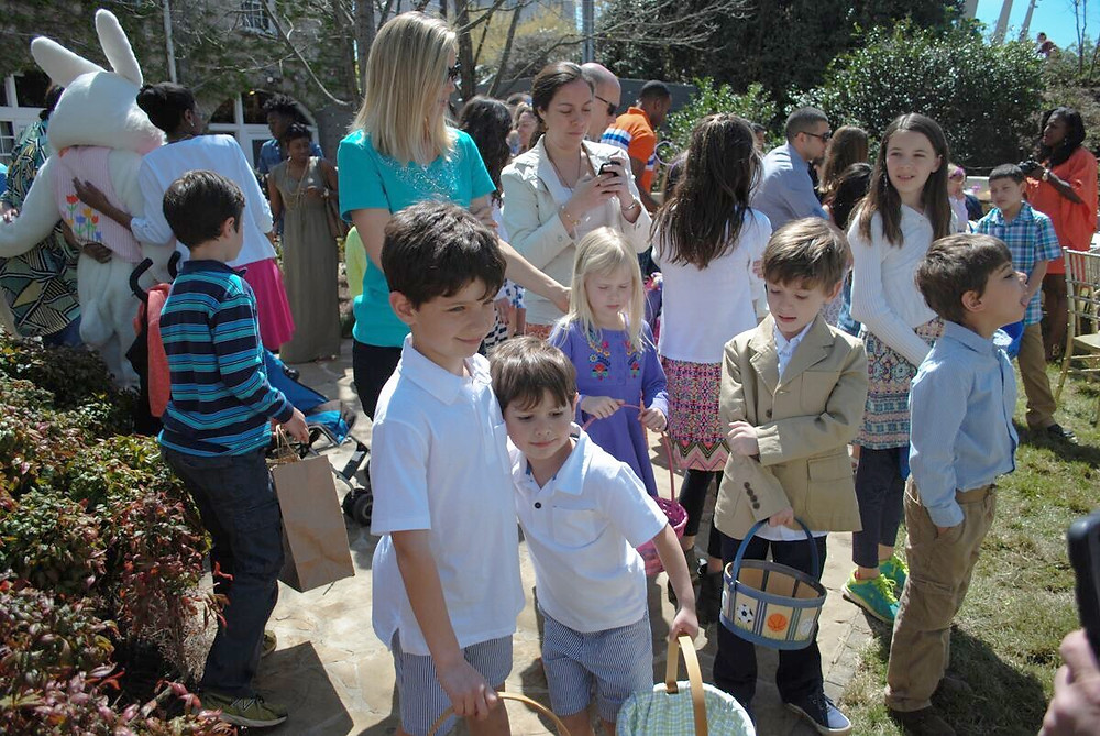 Park Tavern in Piedmont Park - Easter Brunch, Easter Egg Hunt and Pictures with the Easter Bunny, 10 a.m.