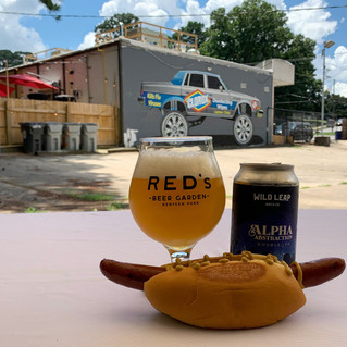 Buy a Weiner, Adopt a Weiner at Red's Beer Garden
