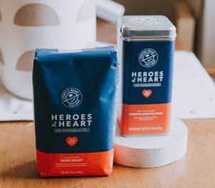 "The Coffee Bean & Tea Leaf ""Heroes at Heart"" Coffee & Tea Launches Online to Benef"