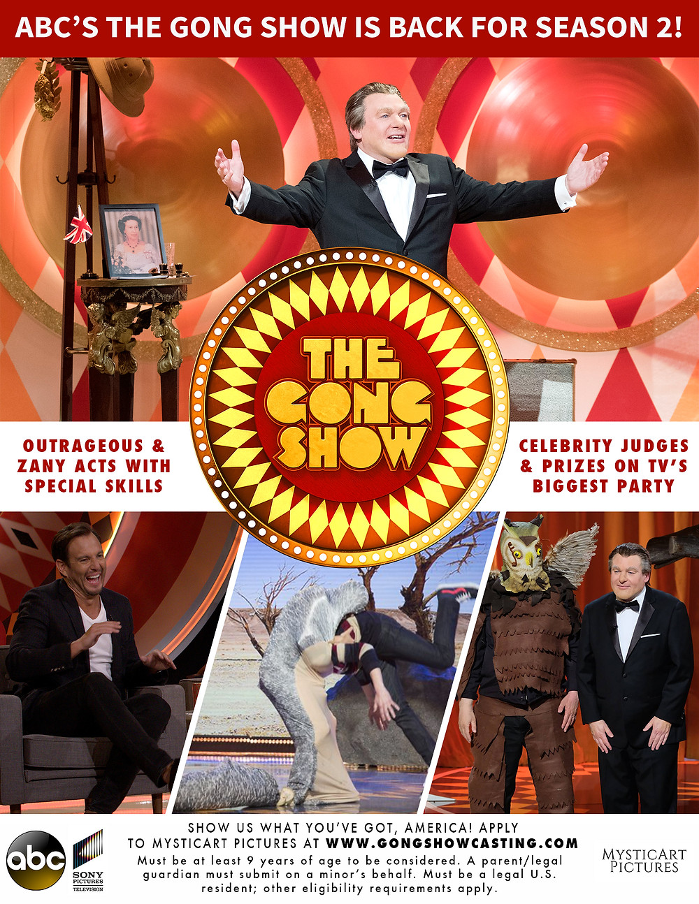 THE ICONIC VARIETY SERIES IS BACK FOR SEASON 2 ON ABC WITH HOST MIKE MYERS AS TOMMY MAITLAND!
