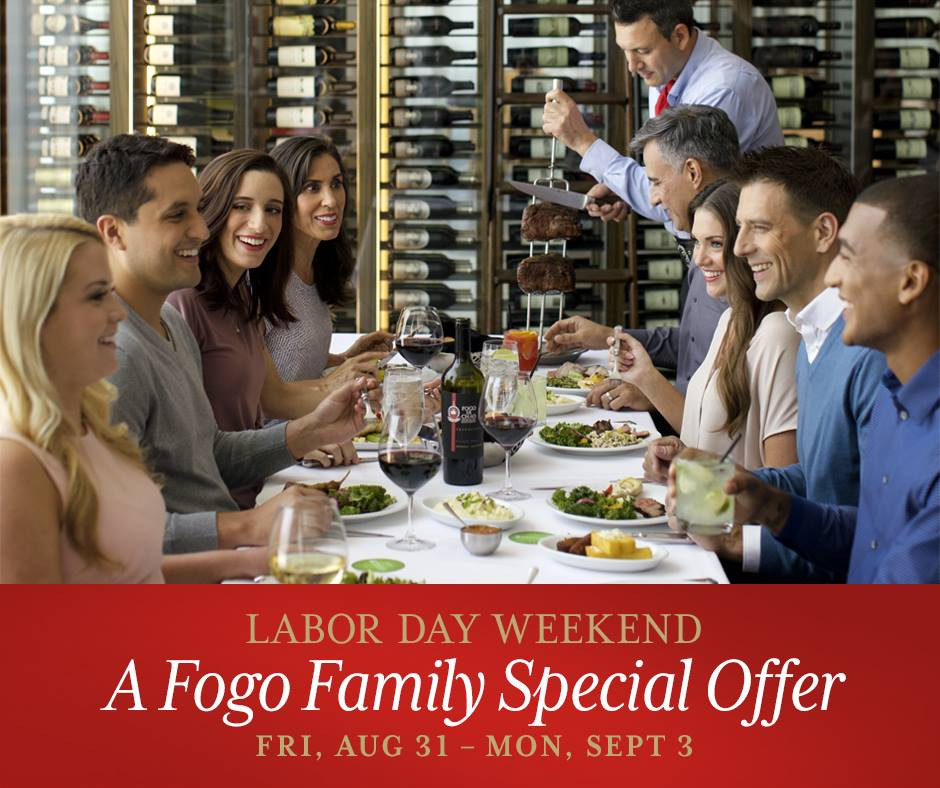 Labor Day Weekend at Fogo