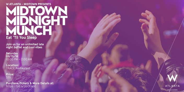 Midtown Midnight Munch - All You Can Eat Buffet After Music Midtown