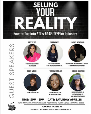 EVENT: 'WHAT'S YOUR 20?' TO HOST WORKSHOP ON HOW TO ACCESS ATLANTA'S $9.5B FILM &amp