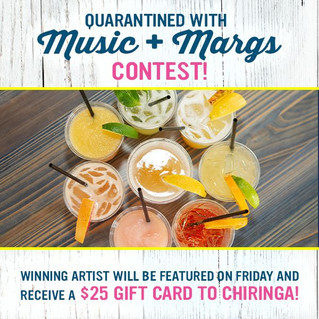 Enjoy a Beach Break during CHIRINGA's Quarantined with Music + Margs