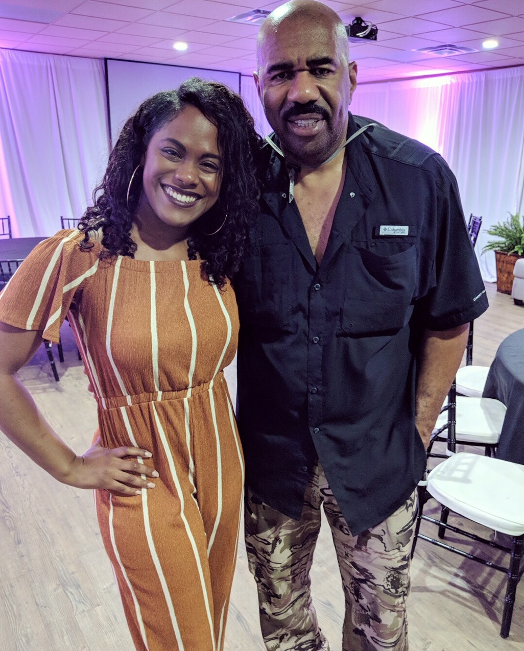 Daraiha Greene (Google) - Steve Harvey