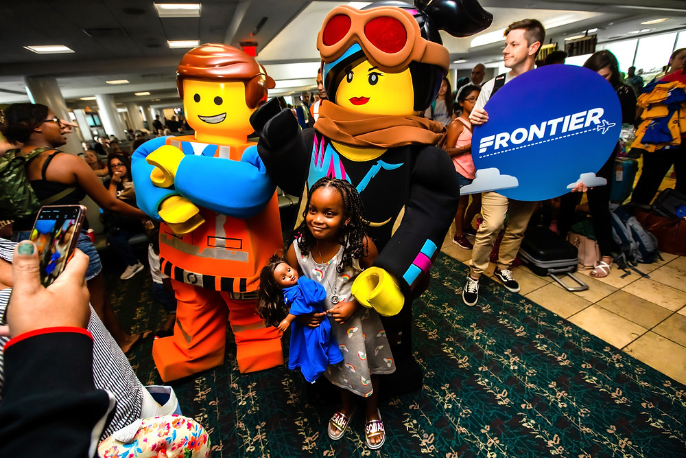 LEGOLAND® Florida Resort and Frontier Airlines Surprise Passengers With Free Theme Park Admission and Flight Vouchers