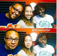 Ash Said it with Michael & Joi in the morning