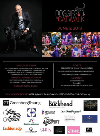 DOGGIES ON THE CATWALK ANNOUNCES NEW LOCATION, DONATION LEVELS AND MORE FOR ITS BIGGEST EVENT EVER