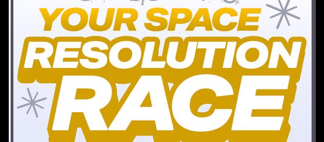 Bert's Big Adventure Your Space Resolution Race