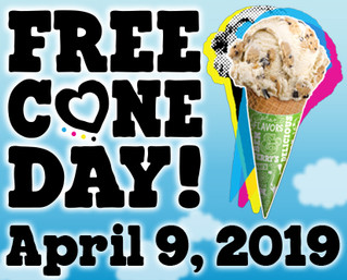 Free Cone Day Is On The Way