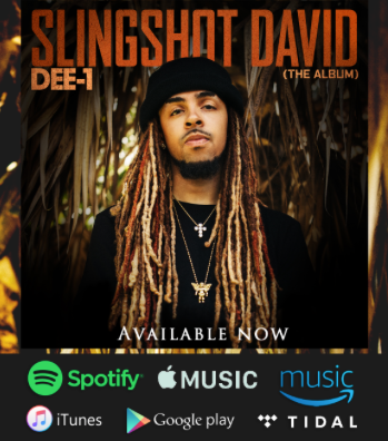 SLINGSHOT DAVID THE ALBUM AVAILABLE NOW!