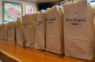 Moe's Original BBQ Helps Feed Atlanta Essential Workers