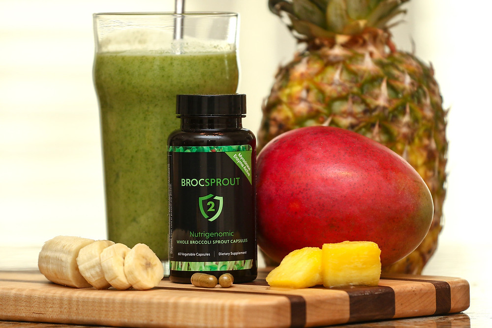 Win a free container of Broc Sprout 2 capsules and check out a new healthy smoothie recipe!