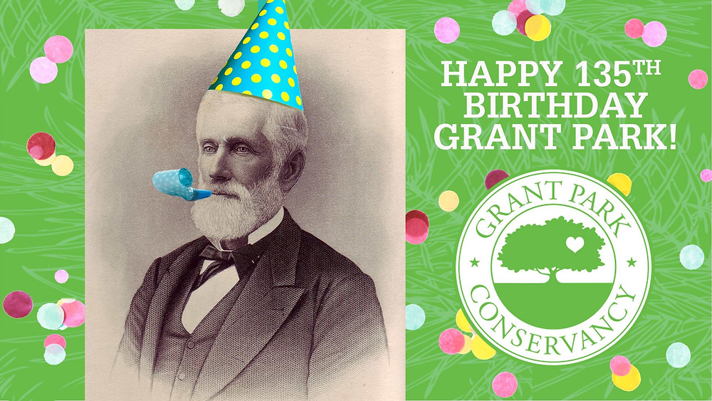 JOIN THE GRANT PARK CONSERVANCY FOR A BIRTHDAY BASH AND AUCTION CELEBRATING THE PARK'S 135TH ANNIVERSARY