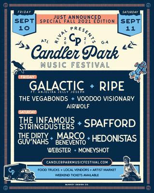 CANDLER PARK MUSIC FESTIVAL BOUNCES BACK IN A BIG WAY, SEPTEMBER 10 & 11, 2021