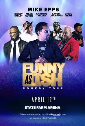 """Mike Epps & More Bring """"Funny Ash Ish"""" Comedy Tour to Atlanta on April 12"""