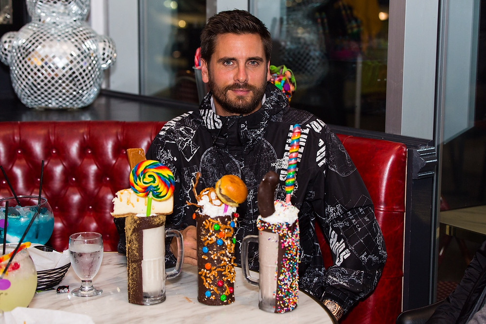 Scott Disick Hosts Grand Opening Celebration for Sugar Factory Pentagon City