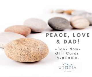 Treat Dad to R&R at Utopia Foot & Shoulder Massage This Father's Day Weekend